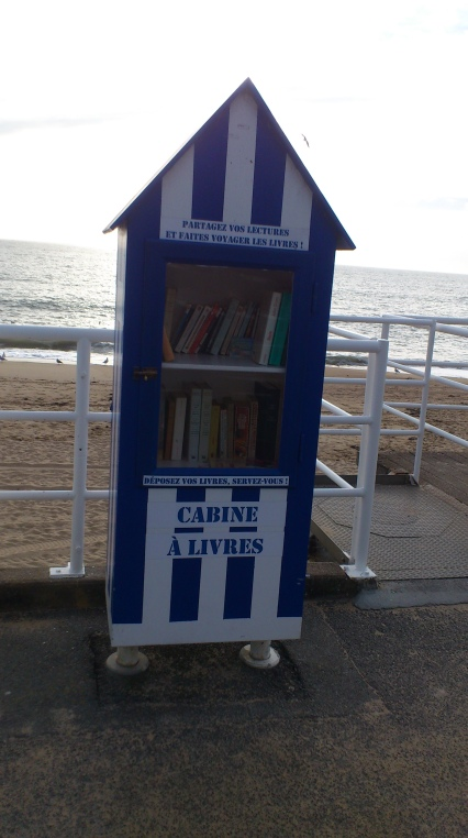 cabine a livres