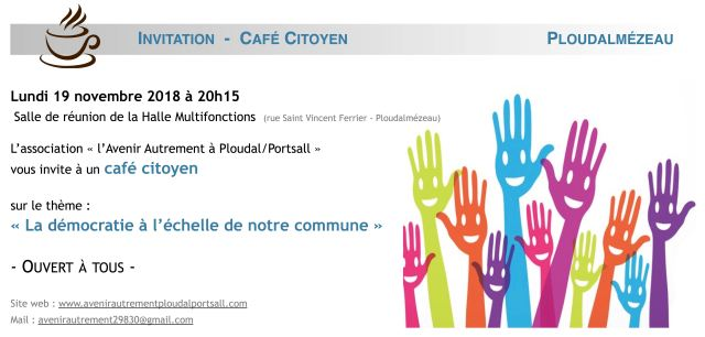 Invitation café citoyen